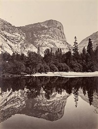 the north dome [fully reflected] by carleton e. watkins